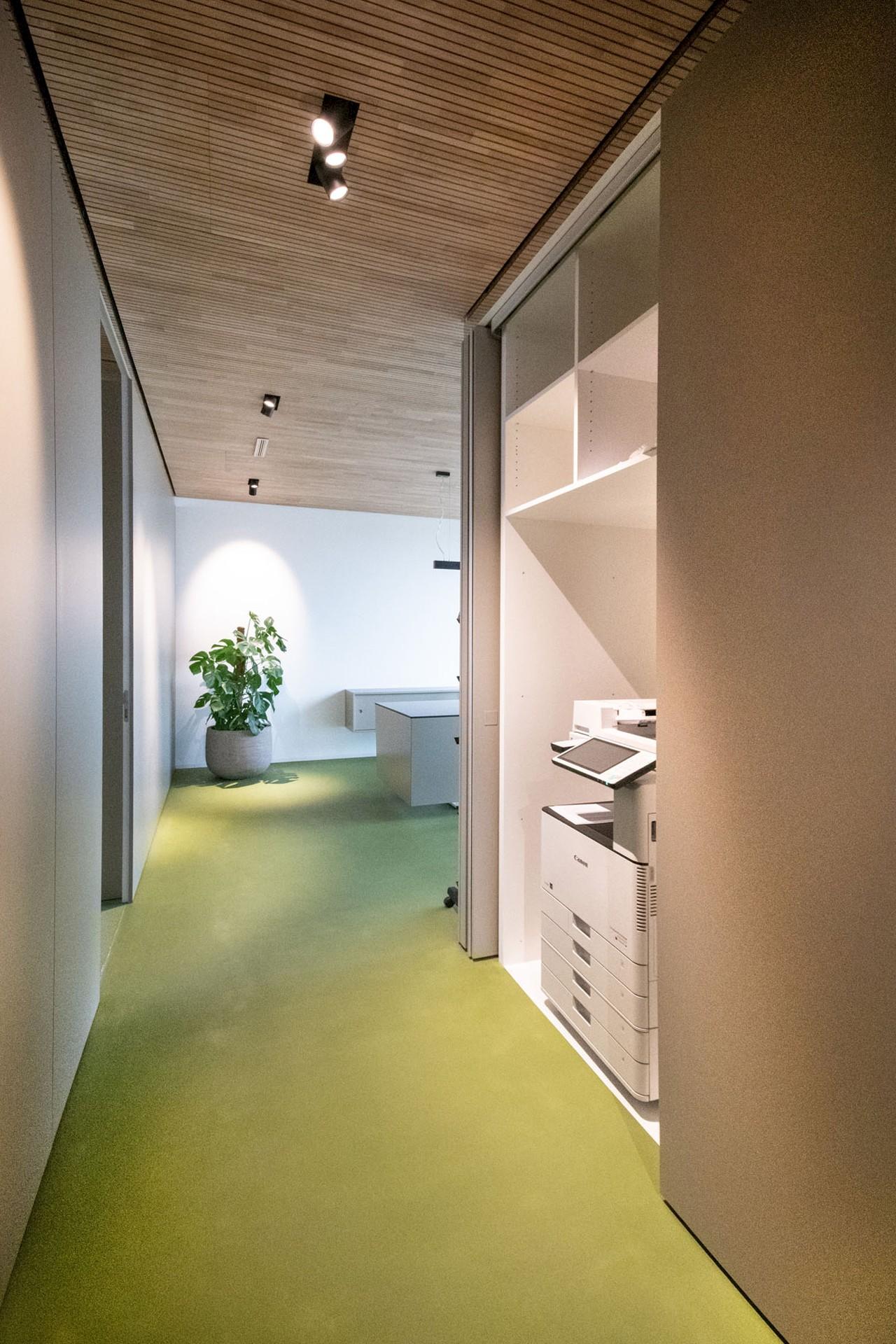Eintreten und wohlfühlen   Welz AG   Büroräumlichkeiten in Niederuzwil